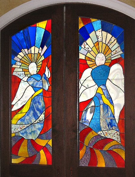 Archangels Door Panels - Installed