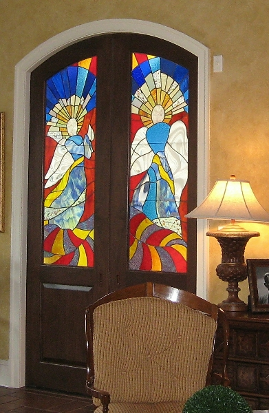 Archangels Door Panels - Room View
