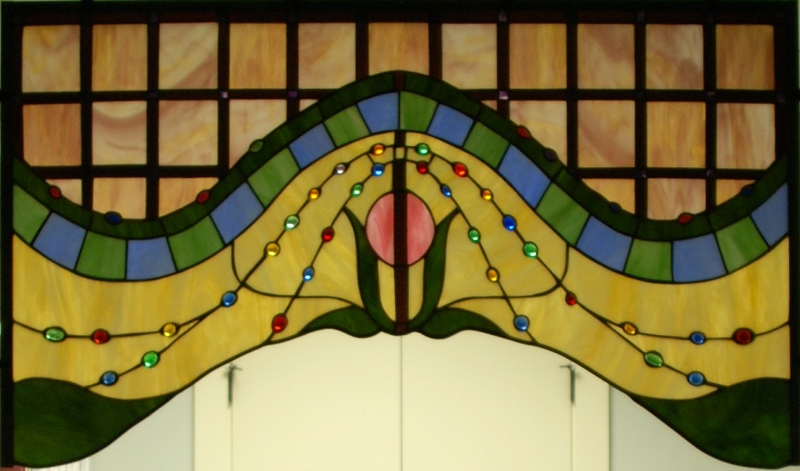 Victorian Panel (in foyer of Morris-Day Architects & Builders office)