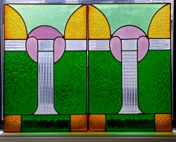 Art Deco Panel YES