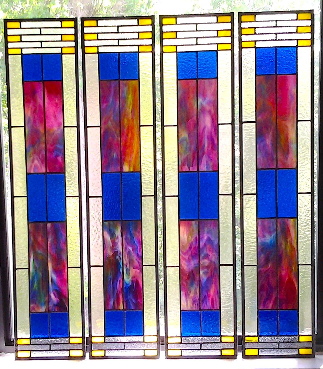 ARTS & CRAFTS - 4 panels