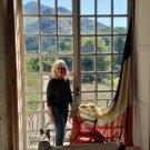 Pamela in her Chateau Atelier (Studio).