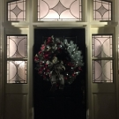 Evans Farm Entryway Christmas-B