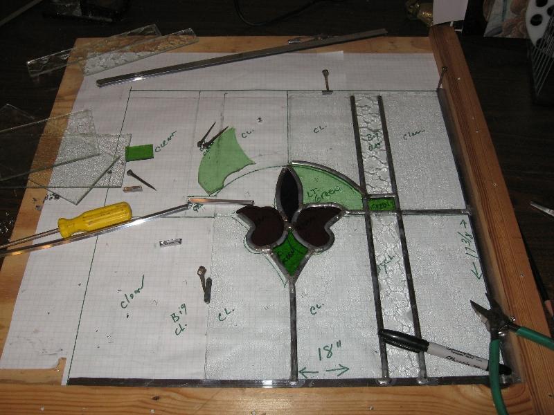 Rebuilding Antique Window Panel