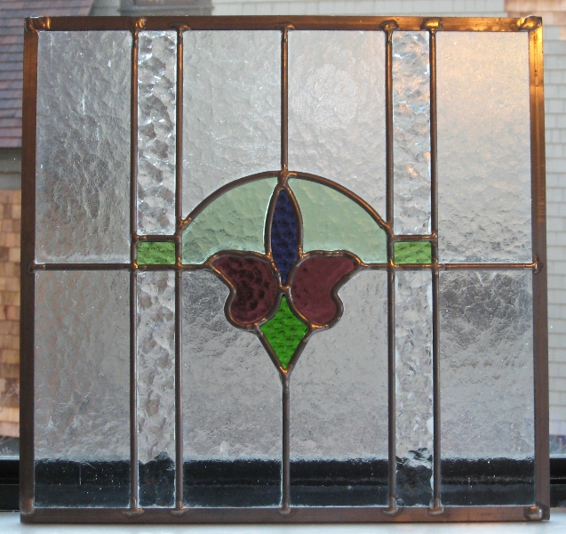Restored Antique Window Panel