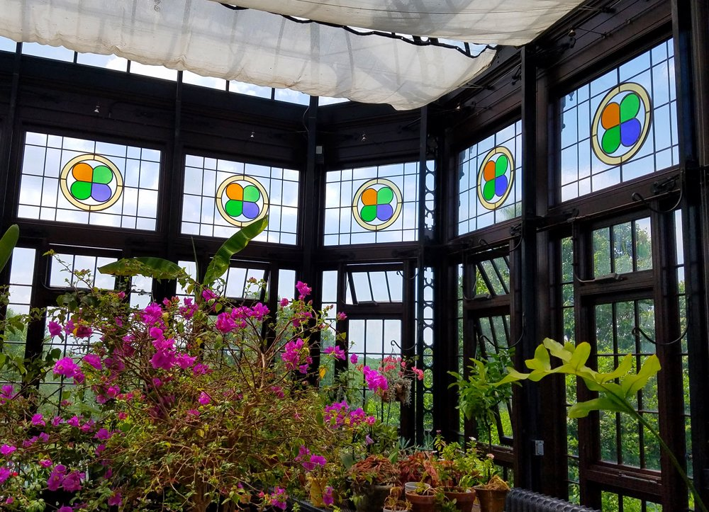 The interior of the Conservatory