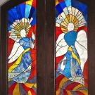 Archangels Door Panels - Installed