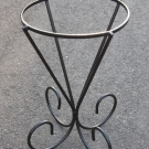 CUSTOM WROUGHT IRON STAND