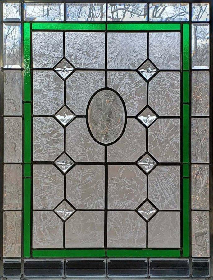 Emerald Green Edwardian Entryway