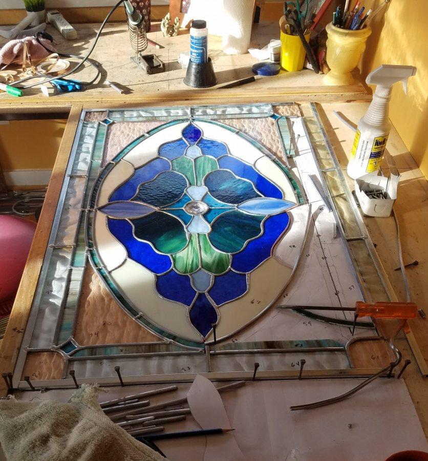 Heavenly Blue restoring 4