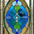 Heavenly Blue Stained Glass crop
