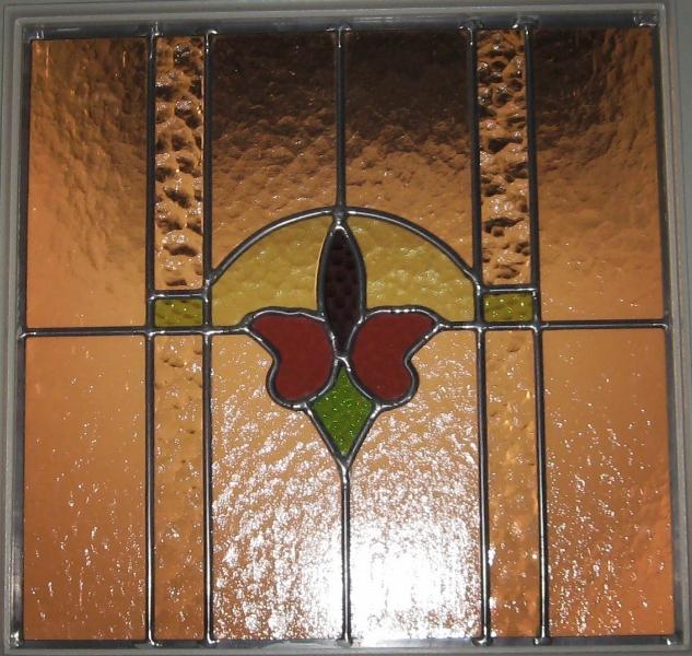 Restored Window Closeup