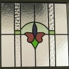Restored Antique Window Panel Installed