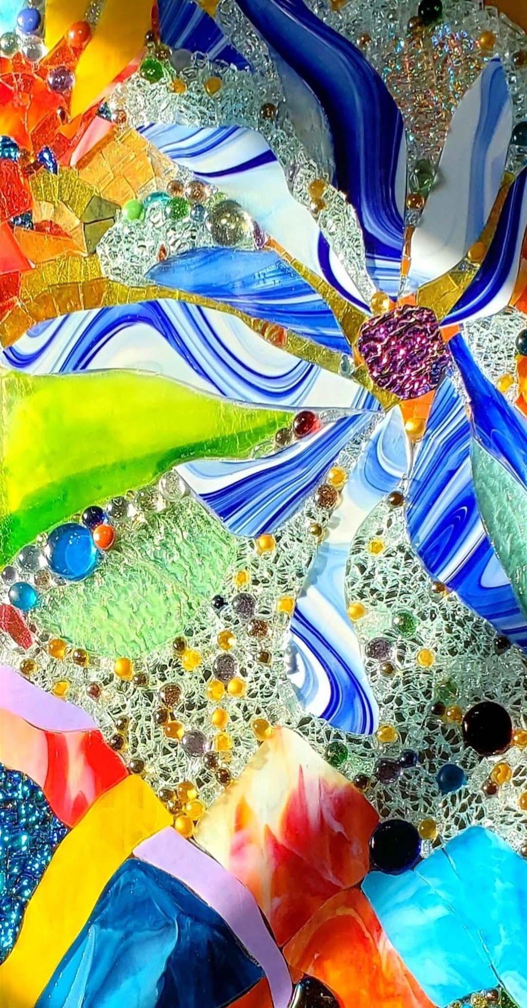 Large Wildflower Mosaic